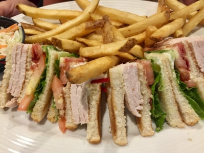 THE TURKEY CLUB SANDWICH